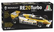 1/12 Maquette en Kit  RENAULT F1 RE20- ITALERI 4707