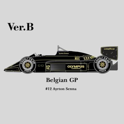 1/12 Maquette en Kit LOTUS 97T GP  BELGIQUE 1985 A.SENNA - model factory hiro  K347