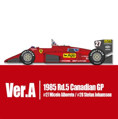 1/43 Maquette en Kit FERRARI 156/85 CANADA 1985  model factory hiro  K752