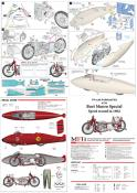 1/9 KIT burt munro special speed record 1962 - model factory hiro  MFH K734