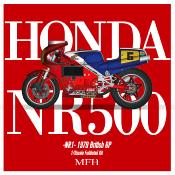 1/9 Maquette en Kit HONDA NSR 500 (NR1)   model factory hiro  K735