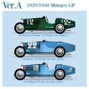 1/43 Maquette en Kit BUGATTI TYPE 35 GP Monaco 1929/1930 model factory hiro  K763