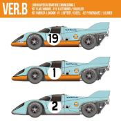 1/12 KIT Porsche 917K gulf le mans 1971 model factory hiro mfh k610