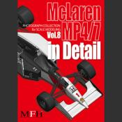 book photos MC Laren MP4/7  Joe Honda  pour model factory hiro