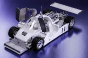 1/12 kit Jaguar XJR 9 le mans 1988 . model factory hiro k554