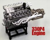 1/12 Maquette en  Kit MOTEUR (Engine) FERRARI 330 P4- model factory  hiro  KE008
