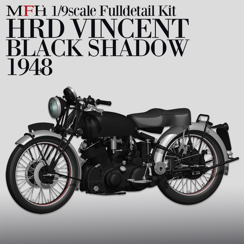 1/9 KIT HRD VINCENT Black shadow 1948 - model factory hiro  MFH K567