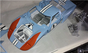 1/12  ford gt40 trumpeter