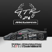 1/12 Maquette en Kit MC LAREN F1 GTR LE MANS 1995 model factory hiro  K756