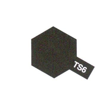 SPRAY NOIR MAT TS6 - TAMIYA 85006