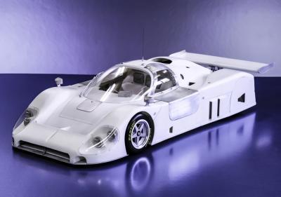 /12 kit Jaguar XJR 9 le mans 1989 . model factory hiro k555