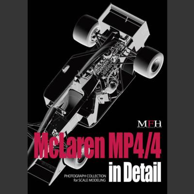 book photos Mc Laren MP4/4  Joe Honda  pour model factory hiro V1