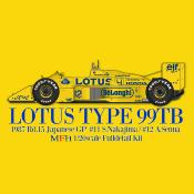1/20 Maquette en kit Lotus 99T A.Senna  model factory hiro  K730